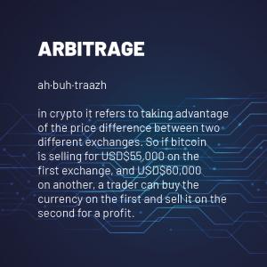 Arbitrage 300x300